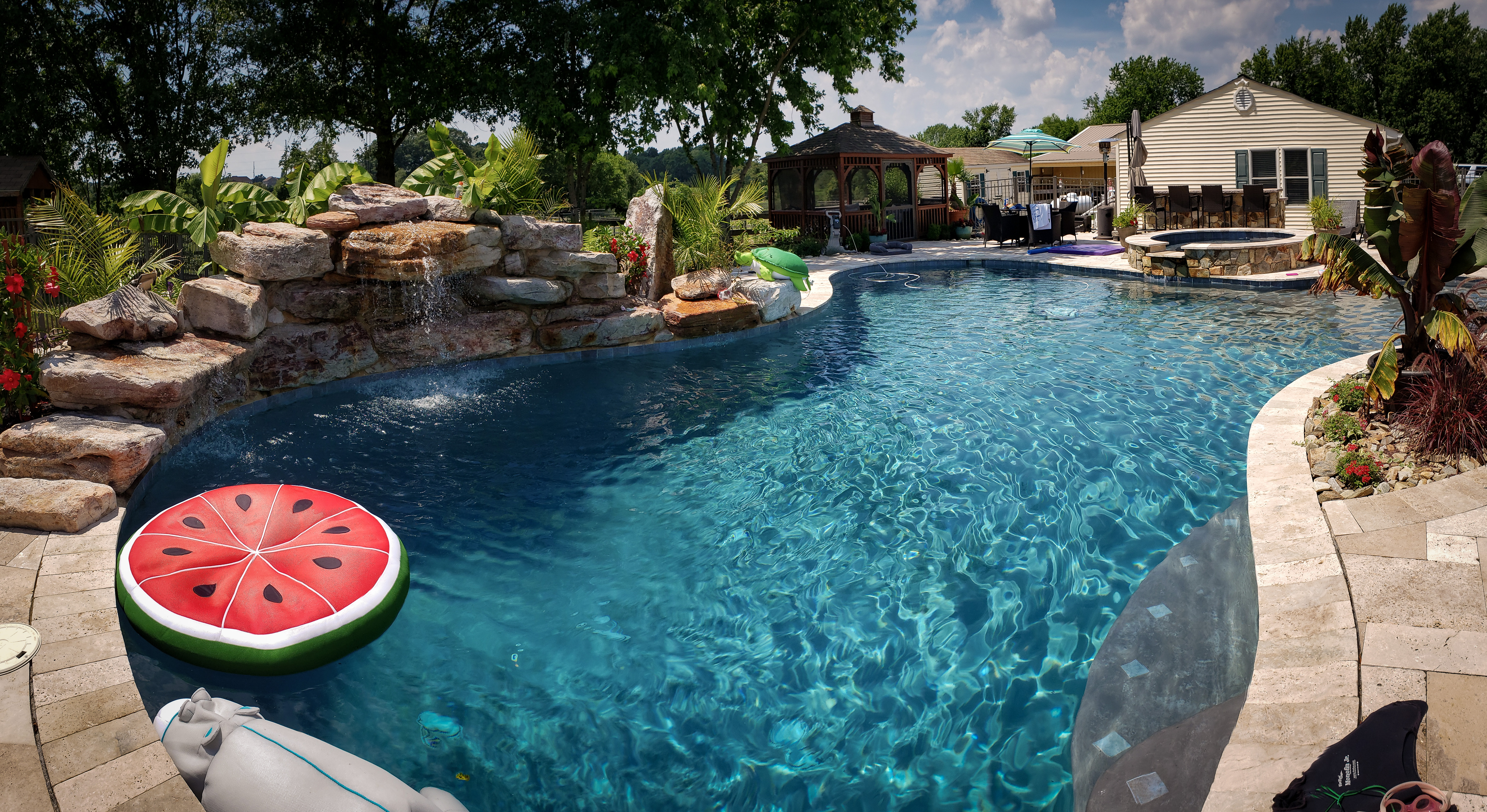 Beautiful poolscape